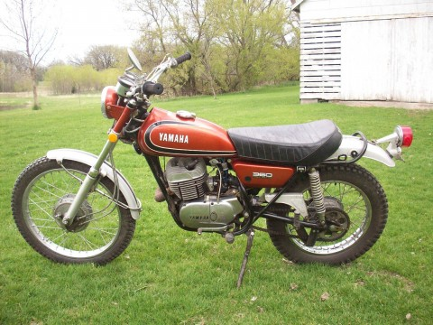 1973 Yamaha RT3 360 2 stroke for sale