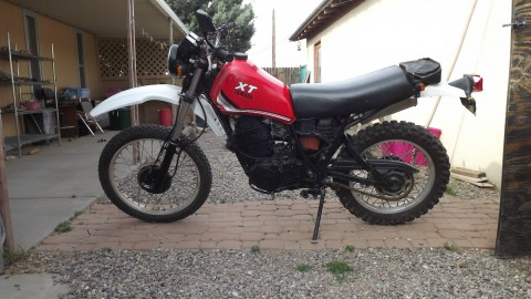 1982 Yamaha XT550 dual-sport for sale