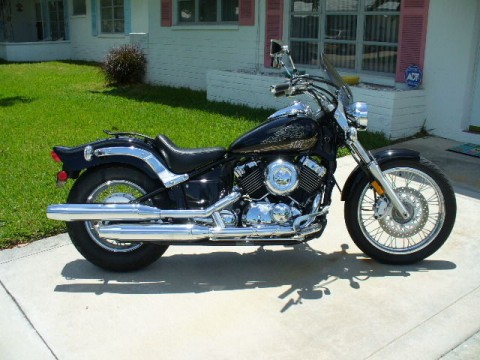 2013 Yamaha V Star 650 Custom Black for sale