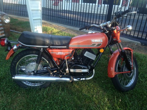 1975 Yamaha 350 rd for sale