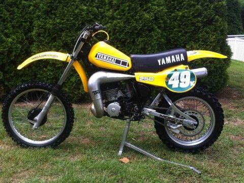 1981 Yamaha YZ for sale