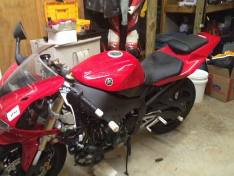 2002 Yamaha YZF R for sale