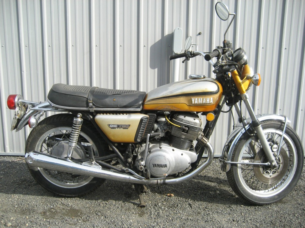 1973 yamaha tx 750 for sale. Black Bedroom Furniture Sets. Home Design Ideas