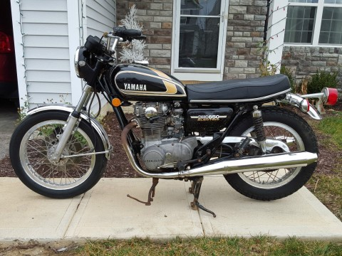 1975 Yamaha XS650 Survivor Project for sale