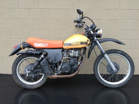 1976 Yamaha XT500 vintage thumper for sale