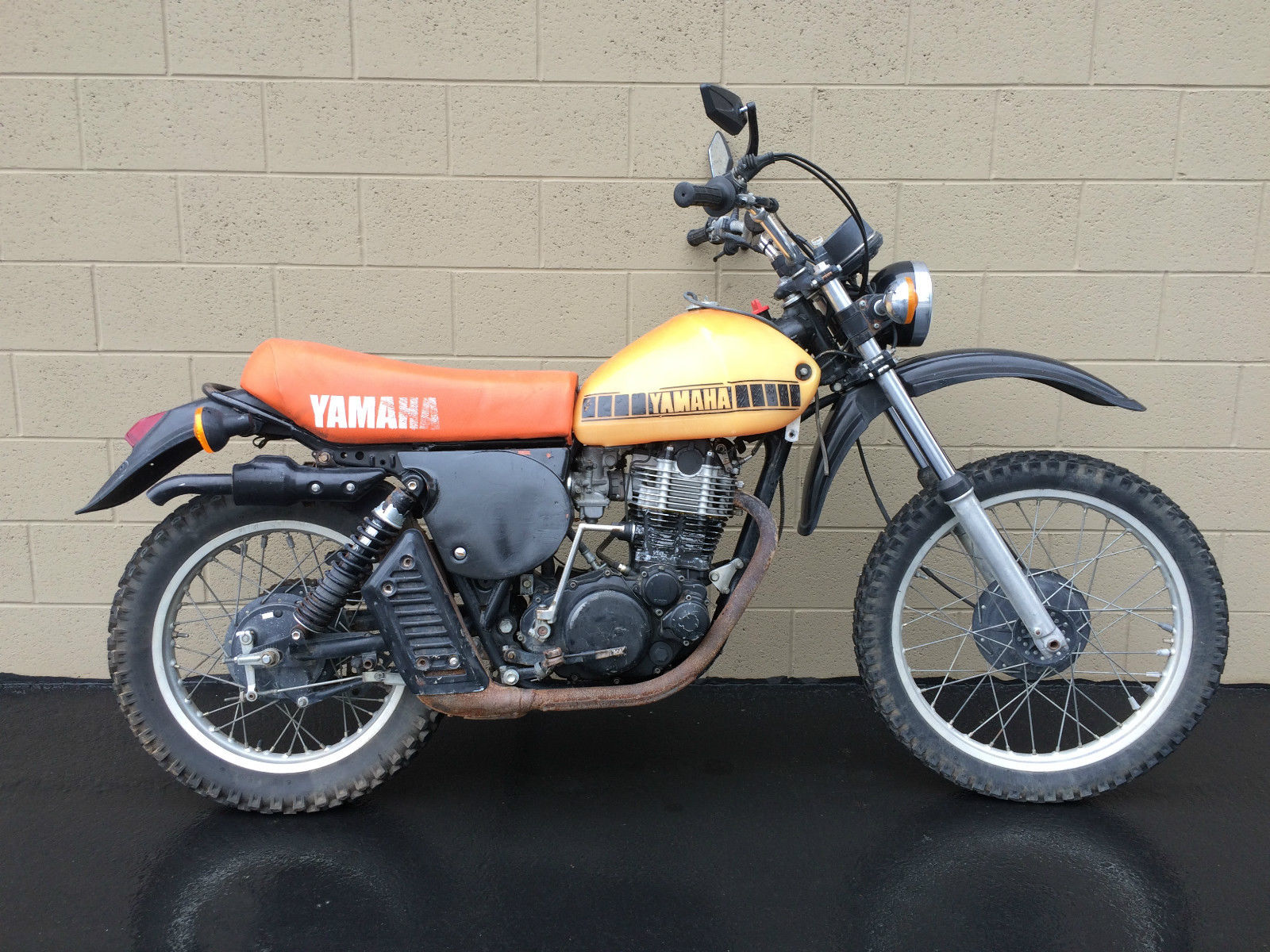 Yamaha Xt Vintage Thumper Yamaha Motorcycles For Sale on Yamaha Xt 500 Enduro