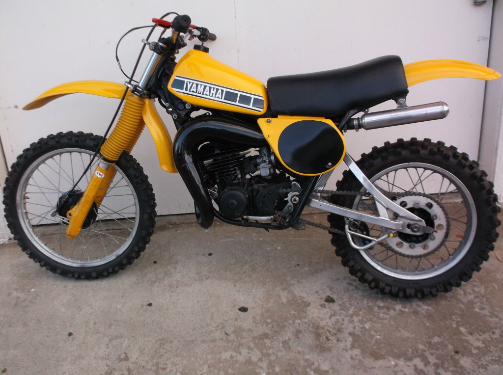 1978 yamaha 250 yz vintage mx racing bike for sale. Black Bedroom Furniture Sets. Home Design Ideas