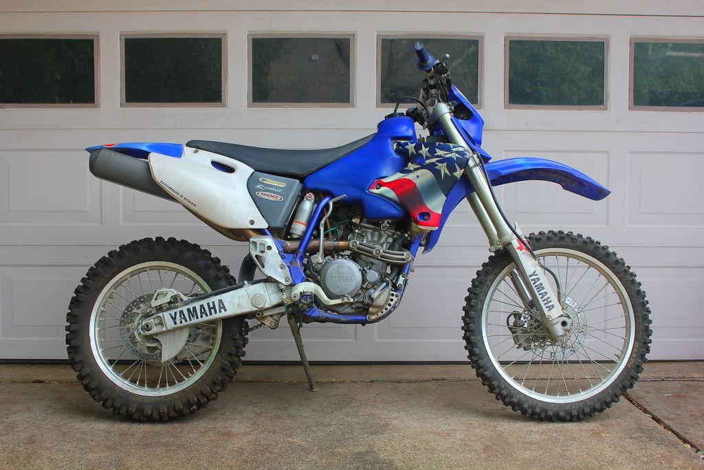 2001 yamaha wr250f dirt bike for sale