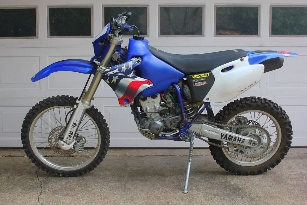 2001 yamaha wr250f dirt bike for sale