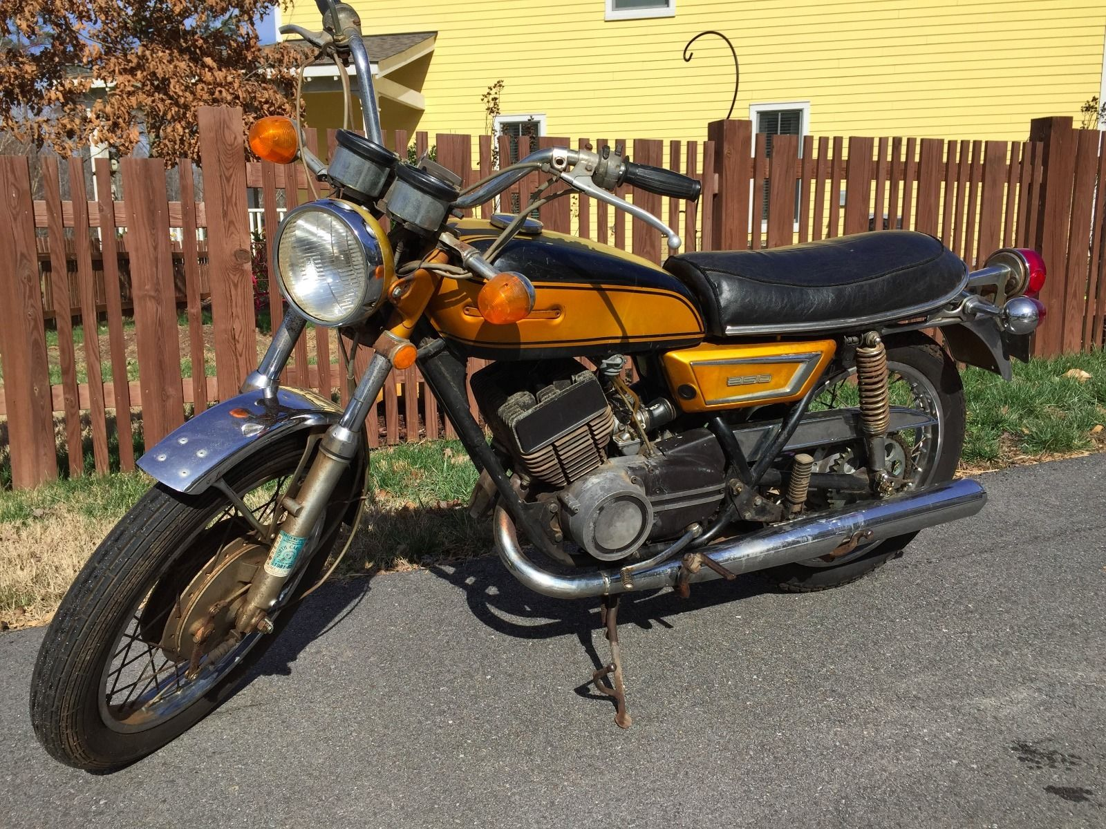 1972 yamaha ds7 for sale for 2001 yamaha pw80 for sale