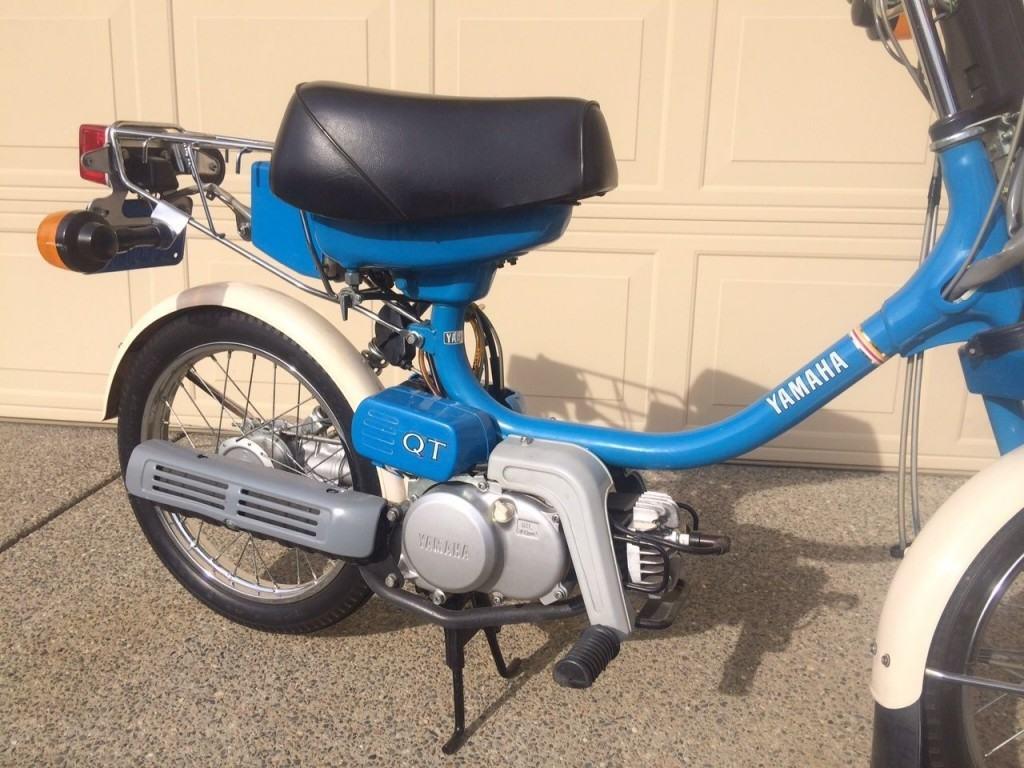 1980 yamaha vintage qt50g classic noped yamahopper for sale for Yamaha of roseville
