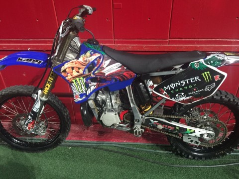 2006 Yamaha YZ250 Motorcycle Stunt Bike for sale