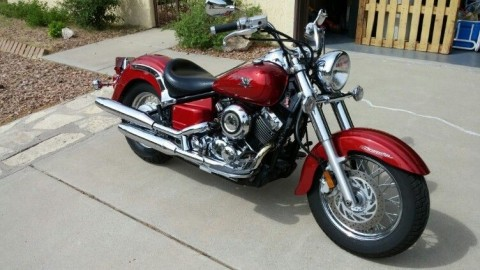 2007 Yamaha V Star 650 Classic Motorcycle for sale