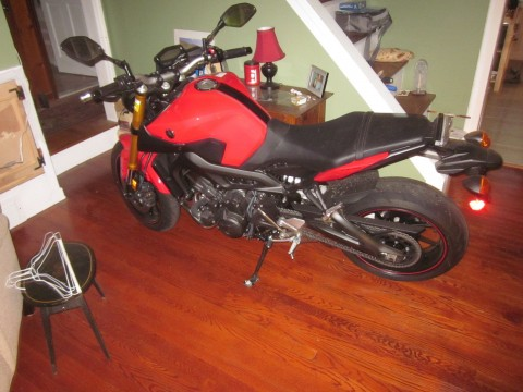 2014 Yamaha FZ09 for sale