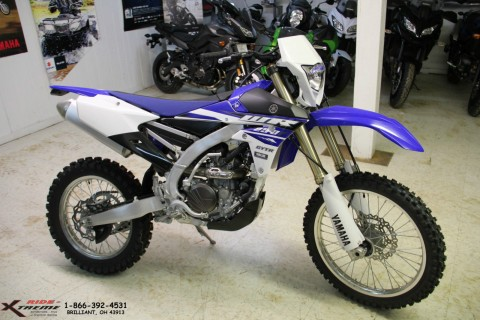 2015 Yamaha WR250F Enduro Motorcycle for sale