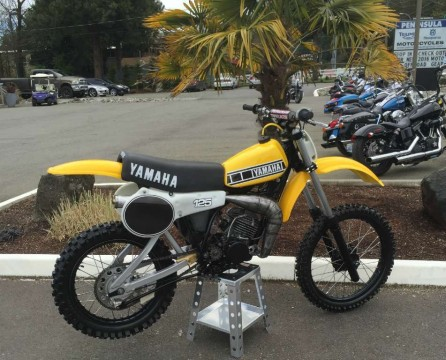 1980 Yamaha YZ 125 for sale