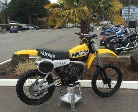 1980 Yamaha YZ 125 for sale