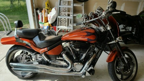 2002 Yamaha Road Star Warrior for sale