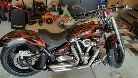 2004 Yamaha Road Star Midnight Star for sale