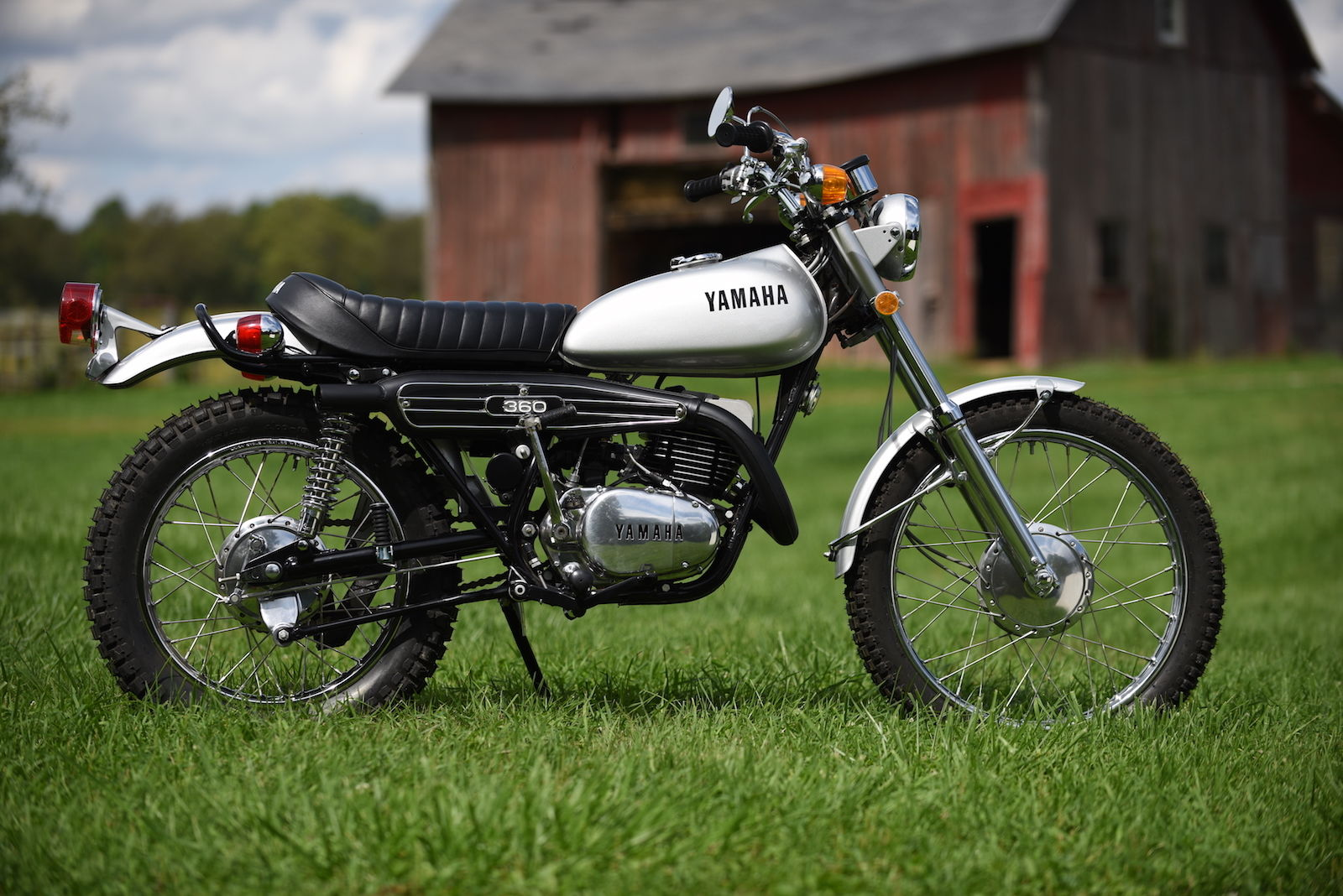 1972 yamaha rt2 360 enduro immaculately restored for sale. Black Bedroom Furniture Sets. Home Design Ideas