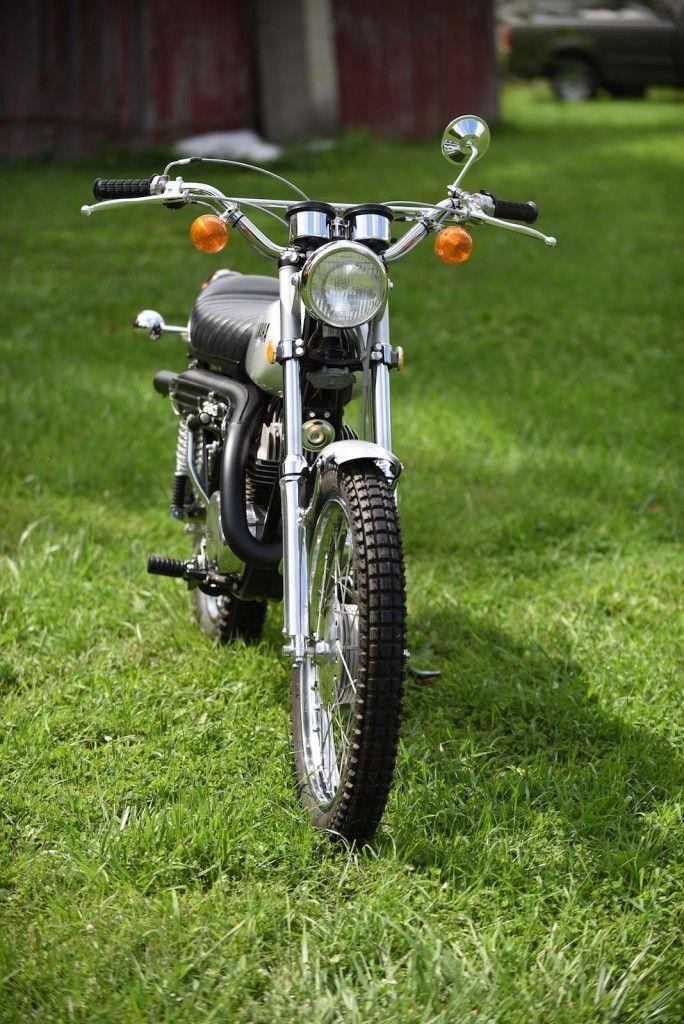 1972 yamaha rt2 360 enduro immaculately restored for sale