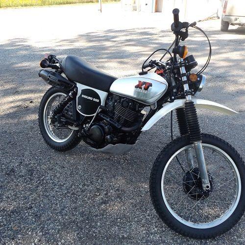 1979 Yamaha XT500 TT
