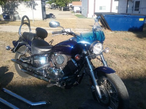 2008 Yamaha V-Star 1100 Custom for sale