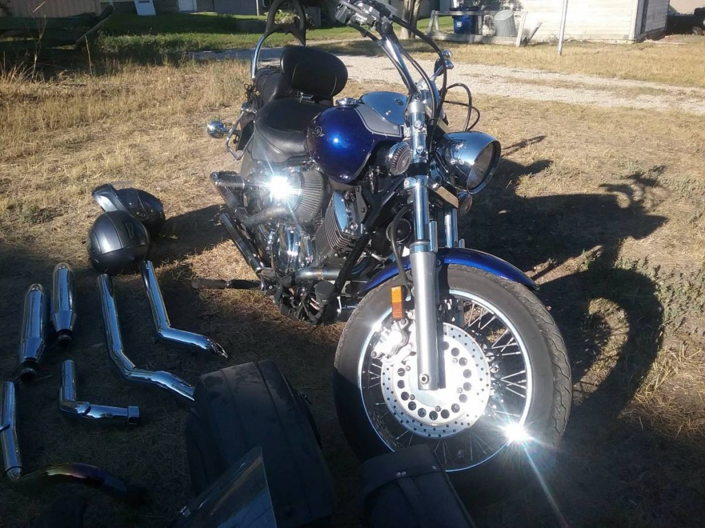 2008 Yamaha V-Star 1100 Custom