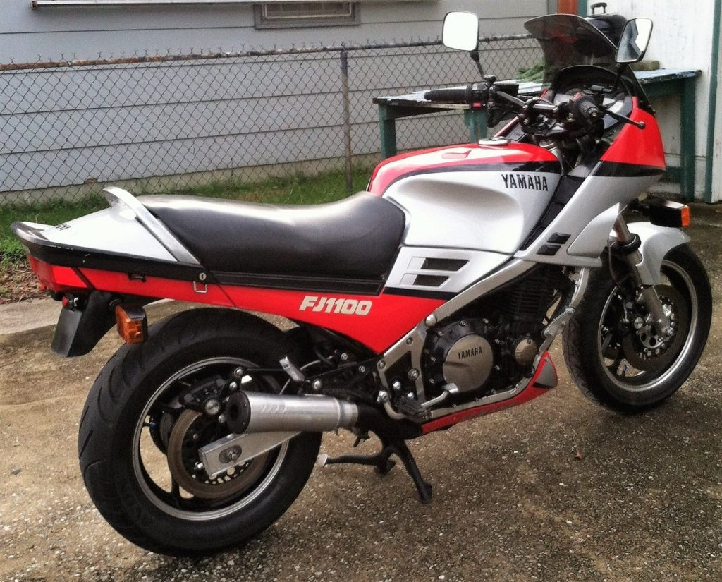 1984 yamaha fj1100 classic sport bike for sale. Black Bedroom Furniture Sets. Home Design Ideas