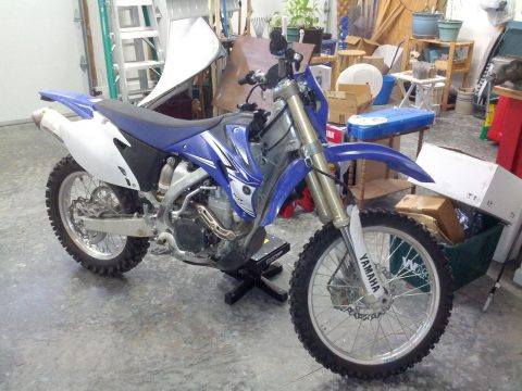 2011 Yamaha WR450F Dirtbike for sale