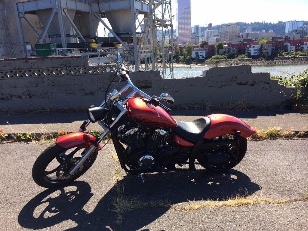 Custom Pro Street 2011 Yamaha Stryker