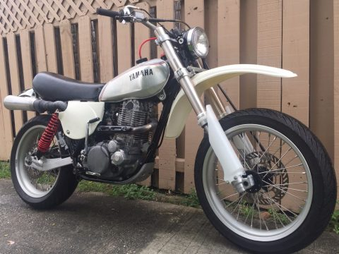 Marvelous Antique 1976 Yamaha XT 500 for sale