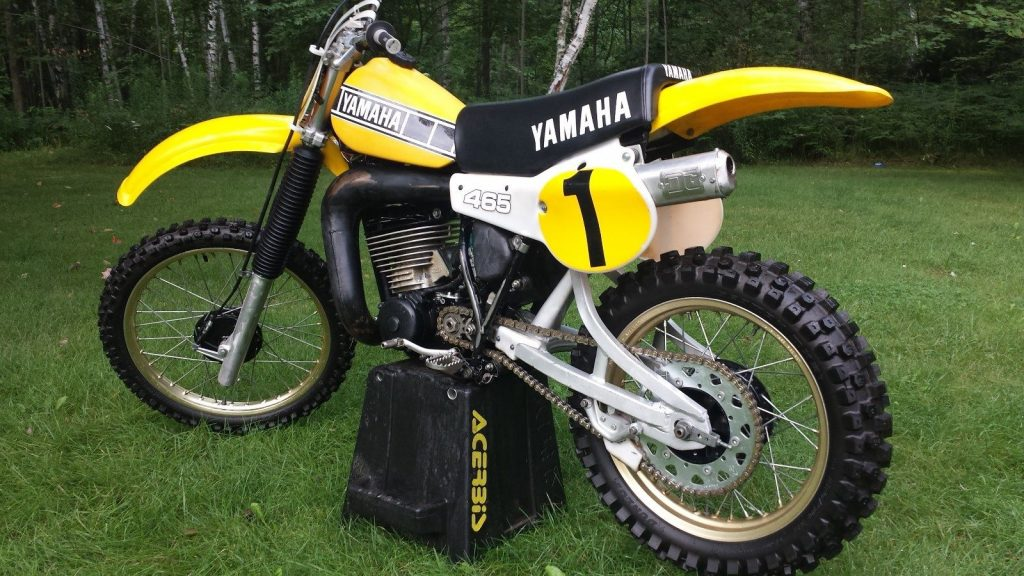 race ready 1981 yamaha yz465 for sale