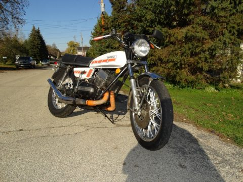 1974 Yamaha rd350 street bike cafe racer for sale