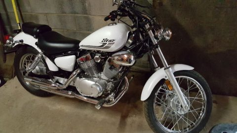 2016 Yamaha V Star 250 for sale