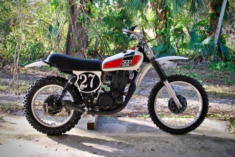 1976 Yamaha TT – runs and rides amazing for sale