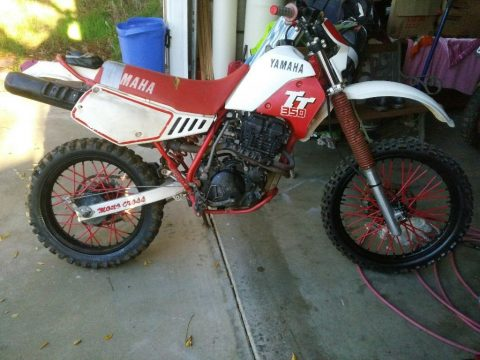 1987 Yamaha TT in excellent condition for sale
