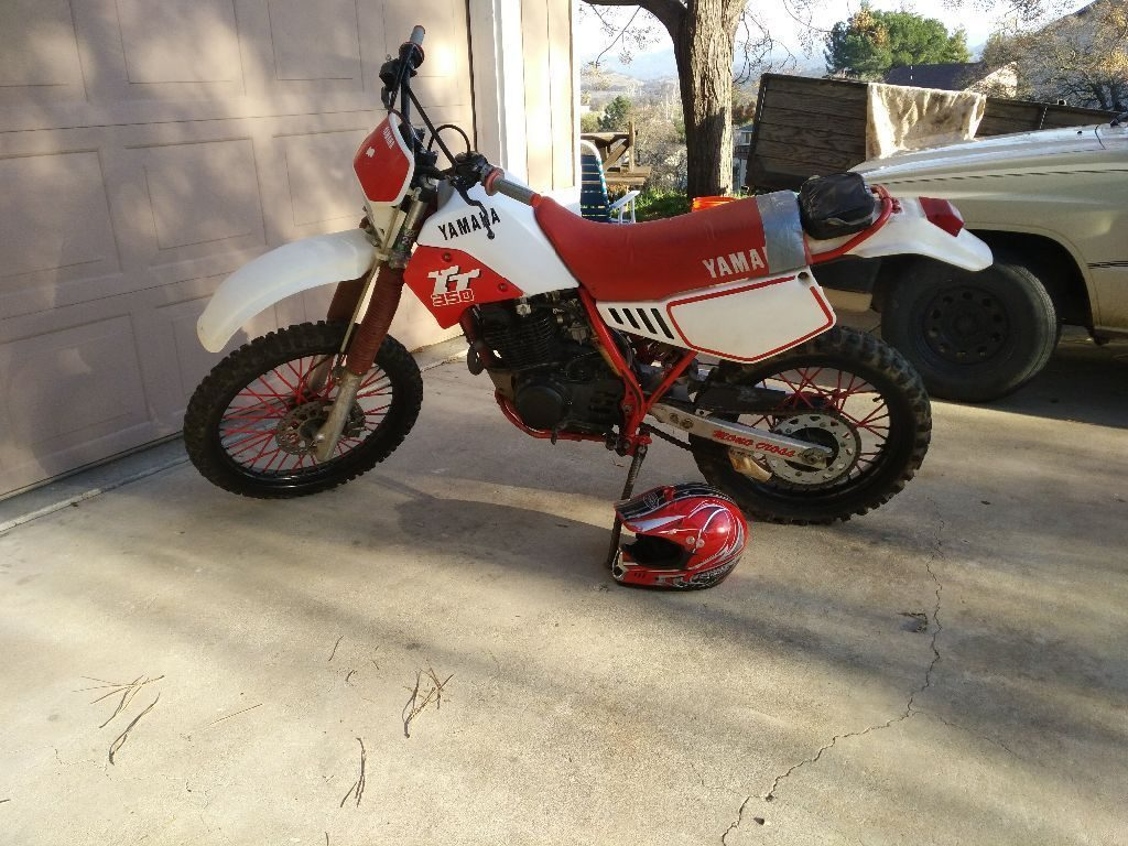1987 Yamaha TT in excellent condition