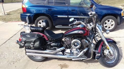 2002 Yamaha V Star in very good condition for sale