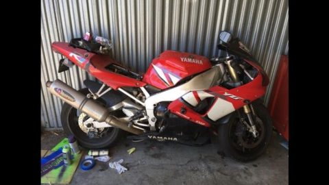 GREAT 2001 Yamaha R1 for sale