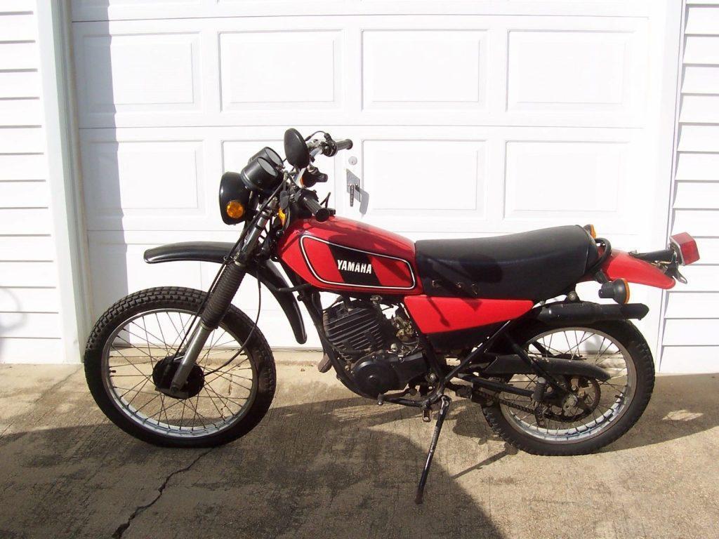 1978 Yamaha 175 Enduro