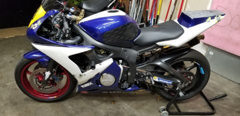 2003 Yamaha YZF R6 Race bike for sale